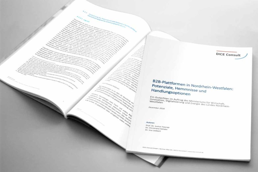 New expert opinion confirms NRW's pioneering role in B2B platforms
