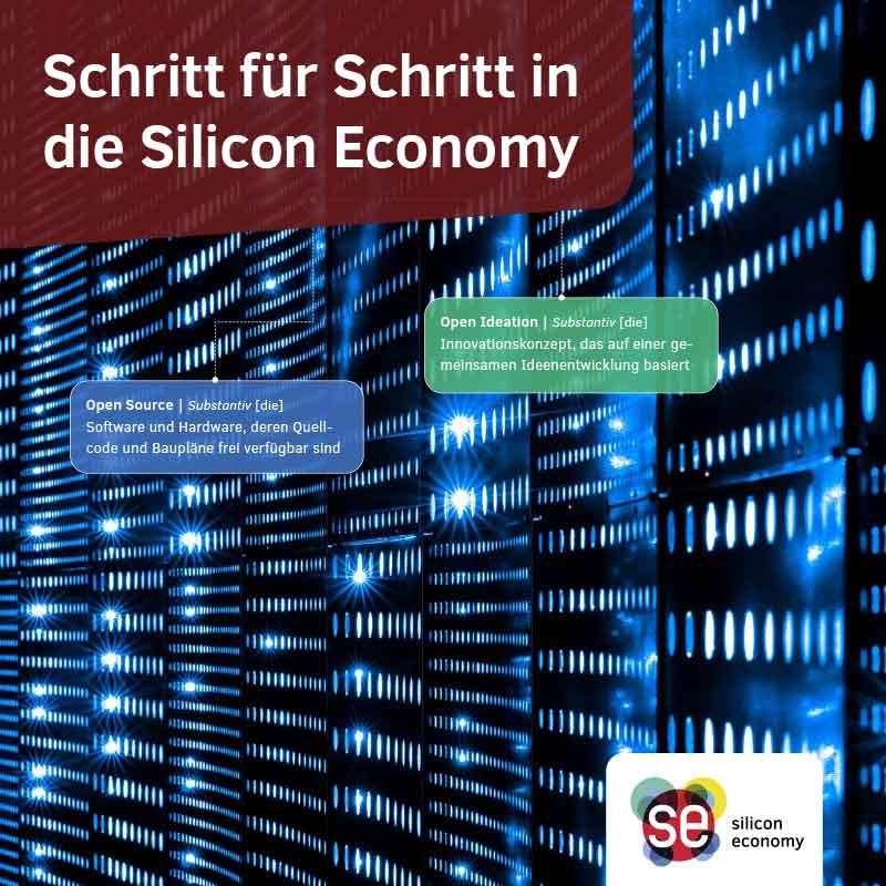 Broschüre Schritt für Schritt in die Silicon Economy