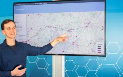 Volle Datensouveränität bei der Bestimmung von Ankunftszeiten multimodaler Transporte